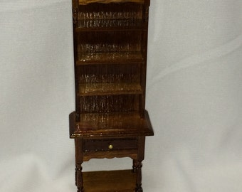 """Dollhouse Miniature 1"""" Scale Tall Cabinet"""
