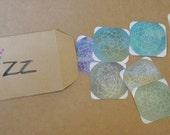 Minimalist Watercolour Plant Sticker Pack