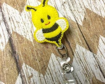 Bee Badge Reel
