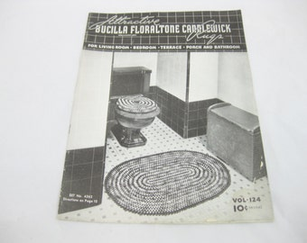 Doilies Luncheon Sets and Table Runners, Book 118  1938, Spool Cotton Company, Crochet Instructions