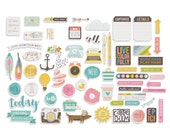 Simple Stories - Carpe Diem - Bits & Pieces - 62 pieces - 4926