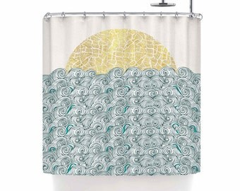 Kids shower curtain | Etsy