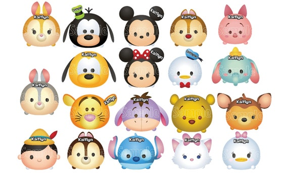 Pintar Tsum Eeyore Coloring Stitch Dibujos: New Thicker Magnets! Mickey Minnie Mouse Donald Goofy Pooh