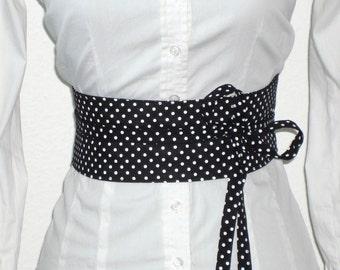 waist belt with dots