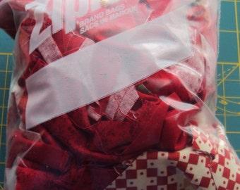 Cotton Fabric Scrap Bag-Quilt Scraps