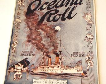 Antique Sheet Music, Oceana Roll