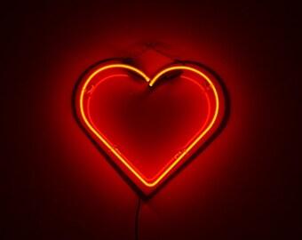 HEART NEON