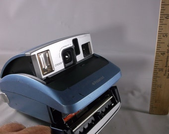 Working Polaroid One 600  Instant Film Blue Camera! . epsteam