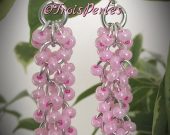 02 Chain Maille earrings - Chainmaille earrings