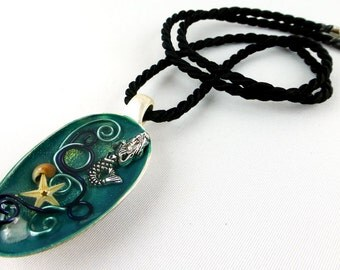 Necklace, Resin, Teaspoon, Spoon