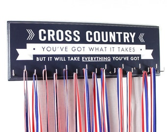 Cross Country medal holder rack display cross country medal hanger for your medals