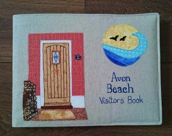 Visitors Book - Reusable Visitors Book Cover - Your own Doorway Design Visitors Book - B&B, Hotel, Cottage Visitors Book
