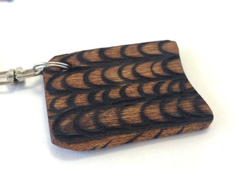 Rectangle Wing Key Chain