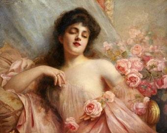 Belle Epoque Perfume Oil 1/2 oz, Romantic Perfume, Old-Fashioned Perfume, White Floral Perfume, Feminine Perfume