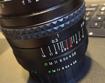 28mm Makinon lens for Fujica Cameras