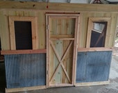 DIY Vintage Chicken Coop Plans - Can Be Made From New Material or Recycled
