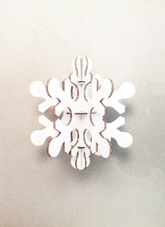 Laser cut white cardboard snow flake, christmas party decoration, Christmas Decor, Christmas Home Decor, Christmas Decor Ideas