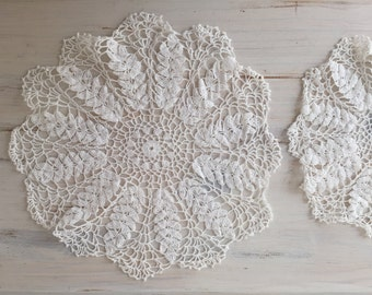 Crochet Doily Set of 3