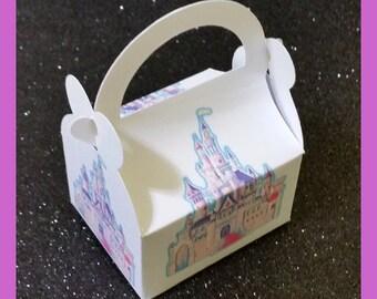 Cinderella castle party favor box - Cinderella Castle birthday box- Cinderella Castle favor box, Princess  favor box