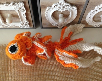 Crocheted Coy Fish