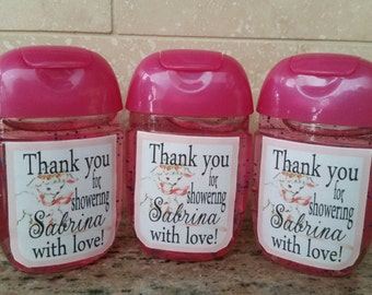 Bath and Body works hand sanitzer LABELS ONLY