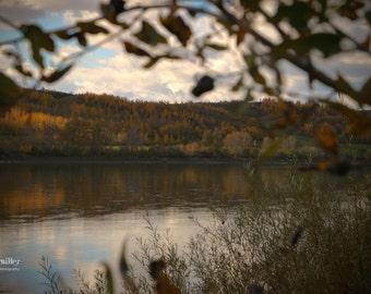 Fall colors, autumn colours, fall photograph, autumn photograph, rustic, autumn, fall, home decor, office decor, prairies