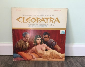 Cleopatra Movie Soundtrack vinyl record