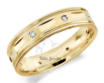 10K Gold Wedding Bands TallieJewelry