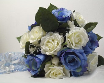 Bridal bouquet, wedding bouquet,bridesmaids bouquet,satin bouquet,satin roses, bouquet,bouquet wedding.