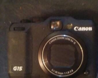 Canon camera G15