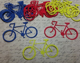 Die Cut Bicycles, approx. 3 inch.     #H-30