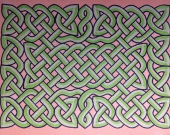 Celtic Knot Prints 4