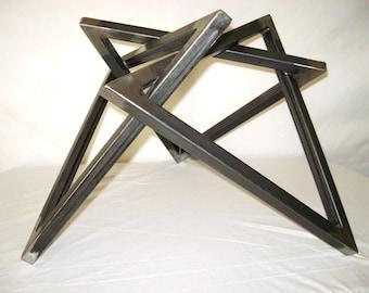 Modern Triangle Table Base
