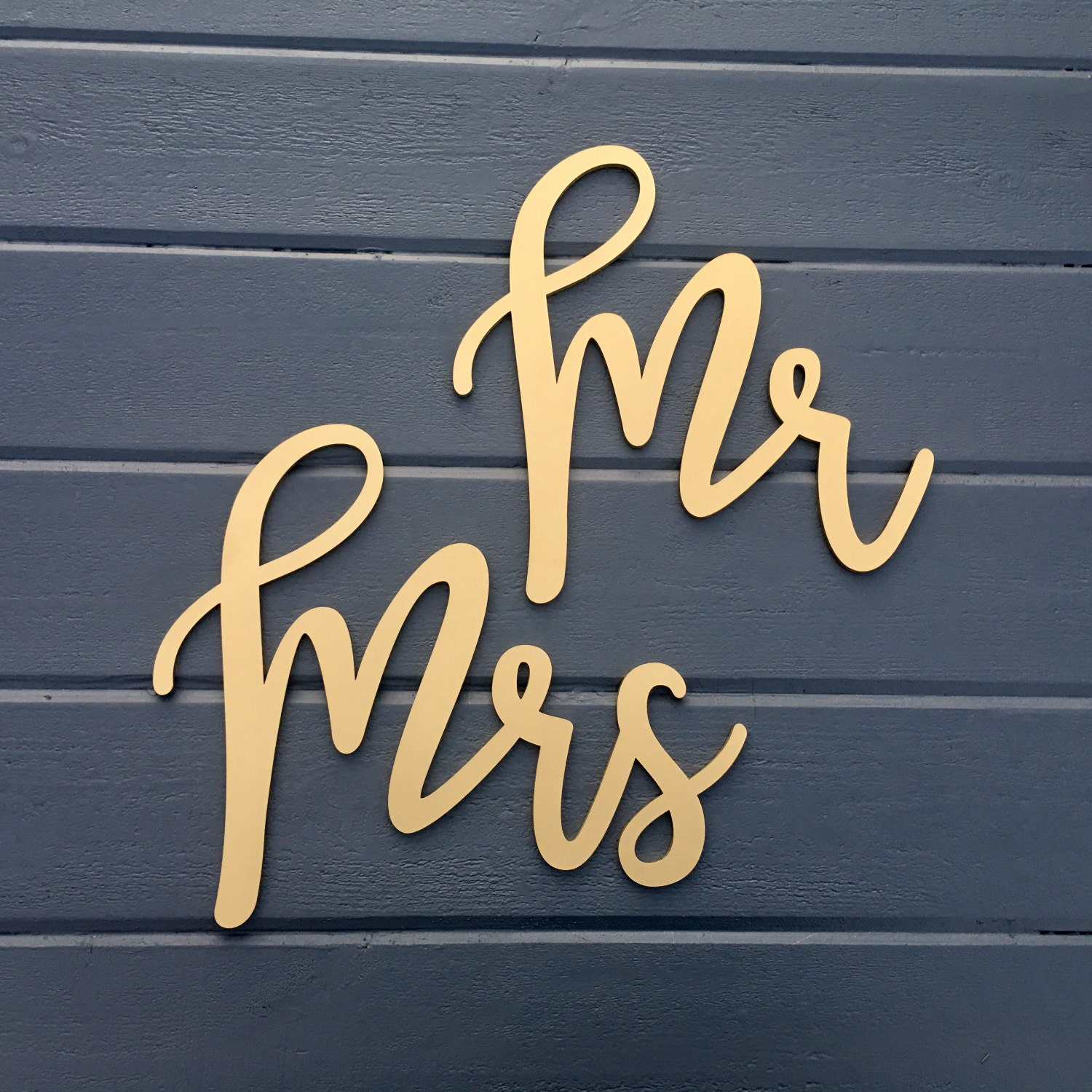 Mr And Mrs Chair Signs Laser Cut Wedding Chair Backs Wood