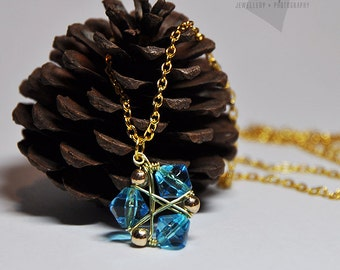 zora's sapphire necklace, the legend of zelda, zelda necklace, zora necklace, ocarina of time, gaming necklace, nintendo jewelry, zelda zora