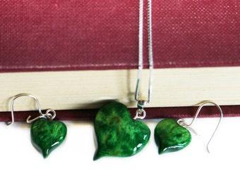 Green Heart Jewellery