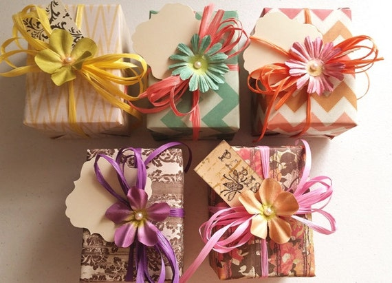 5 Personalized Bridesmaids Bath Gift Sets Party Favors