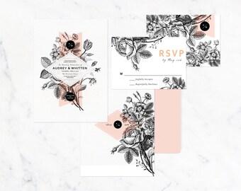 Audrey & Whitten | botanical flower | customizable