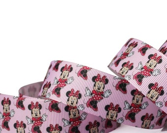 Minnie Mouse 1 inch ribbon