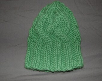 Toddler Cable Knit Hat