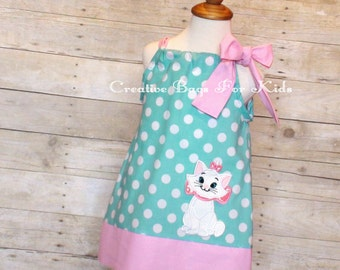 Aristocats Dress/ Aristocats Outfit/ Cat Dress/ Cat Outfit (matching bag available)