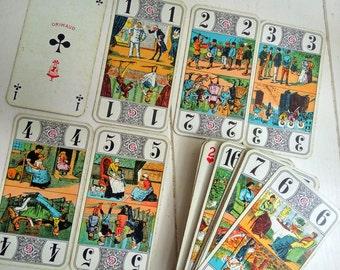 Set of Grimaud French Tarot Cards with Orginal Box
