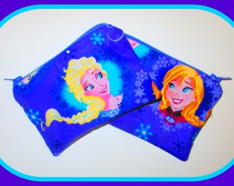 Purple Frozen's Forever Sisters Purse {Ideal for Lunch Money or Pocket Money}