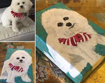 Customized Puppy Portrait