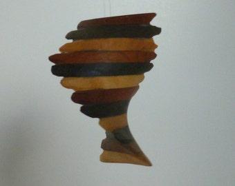 spinning spiral mobile