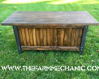 Artisan Industrial Rustic Office Desk