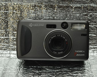 Kyocera Yashica T4 Zoom / T-Zoom Point and Shoot Camera