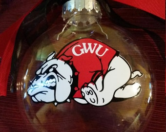 Gardner Webb Ornament