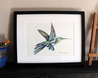 Hummingbird Original Art