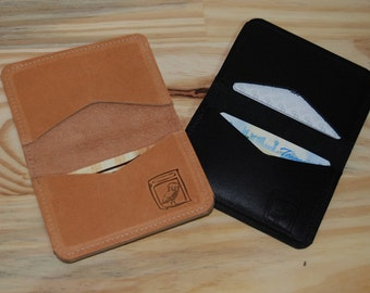 Leather Slim Wallet // Cardholder - FREE US SHIPPING